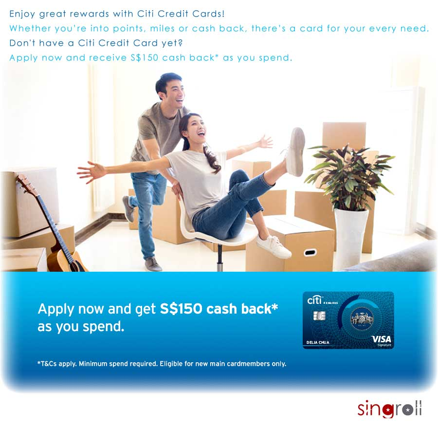 Enjoy Great Rewards with Citi Credit Cards!