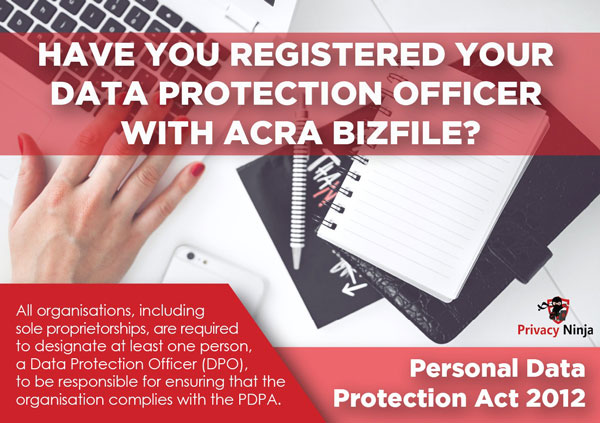 Personal Data Protection Act 2012